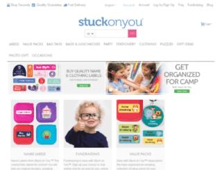 staging.stuckonyou.com screenshot