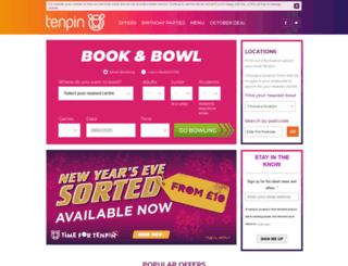 staging.tenpin.co.uk screenshot