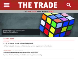 staging.thetradenews.com screenshot
