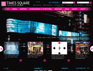 staging.timessquarenyc.org screenshot