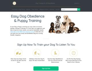 staging.trainpetdog.com screenshot