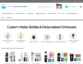 staging.waterbottles.com screenshot