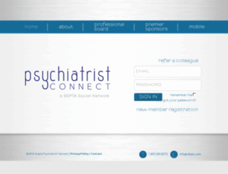 stagingpsychiatristconnect.skipta.com screenshot