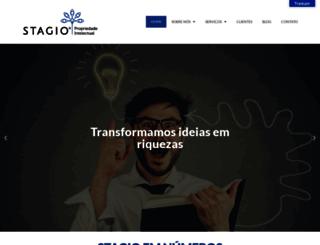 stagio.com.br screenshot