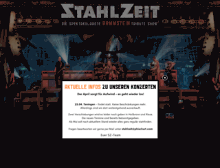 stahlzeit.com screenshot
