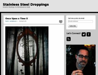 stainlesssteeldroppings.com screenshot