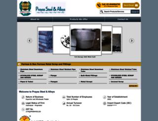 stainlesssteelscraps.com screenshot