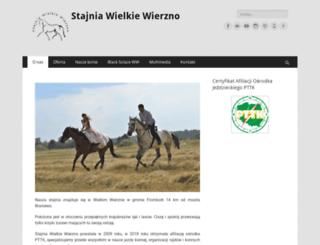 stajniawielkiewierzno.pl screenshot