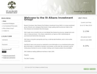stalbansinvestmentgroup.co.nz screenshot