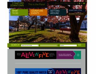 stamford-downtown.com screenshot
