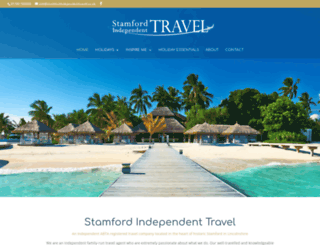 stamfordindependenttravel.co.uk screenshot