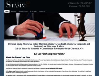 stammlaw.com screenshot