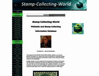stamp-collecting-world.com screenshot