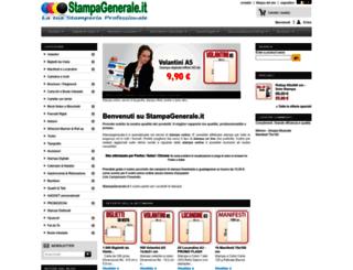 stampagenerale.it screenshot