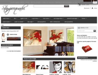 stampeequadri.altervista.org screenshot