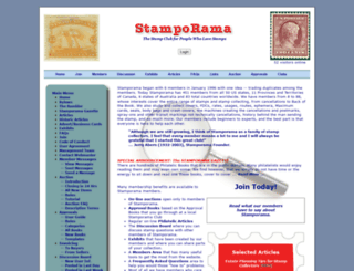 stamporama.com screenshot