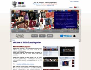stamporganiser.co.uk screenshot