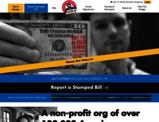 stampstampede.org screenshot