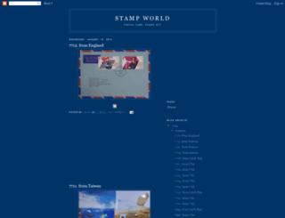 stampworld.blogspot.com screenshot