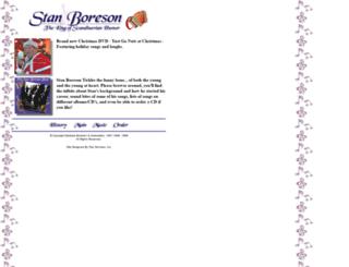 stanboreson.com screenshot