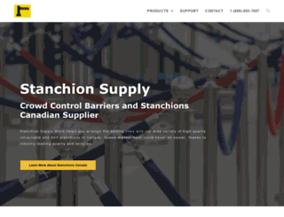 stanchionsupplystore.com screenshot