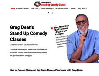 stand-upcomedy.com screenshot