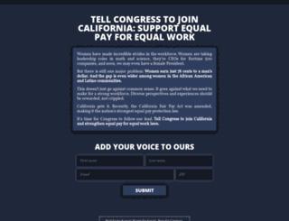 stand-with-women.com screenshot