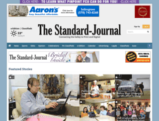 standard-journal.com screenshot