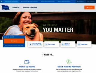 standard.com screenshot