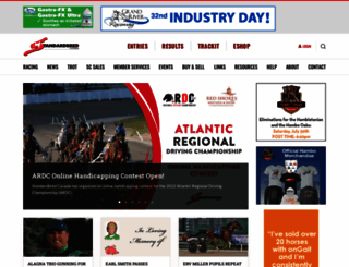 standardbredcanada.ca screenshot