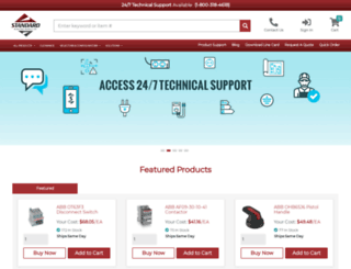standardelectricsupply.com screenshot