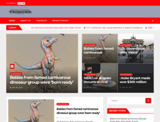 standardtrib.com screenshot