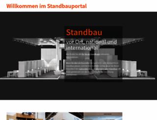 standbau.messe-duesseldorf.de screenshot
