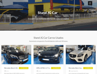 standjgcar.pt screenshot