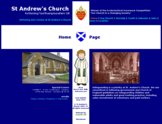 standrewkettering.org.uk screenshot
