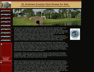 standrewscchomesforsale.com screenshot