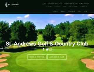 standrewsgc.com screenshot