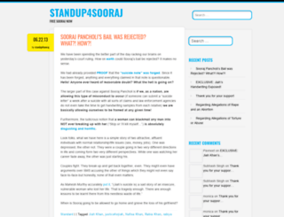 standup4sooraj.wordpress.com screenshot