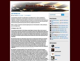 standupforamerica.wordpress.com screenshot