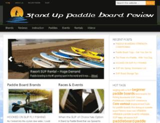 standuppaddleboardreview.com screenshot