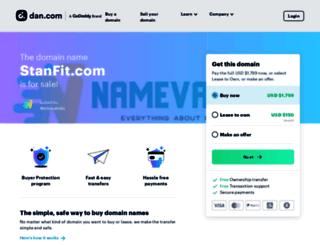 stanfit.com screenshot