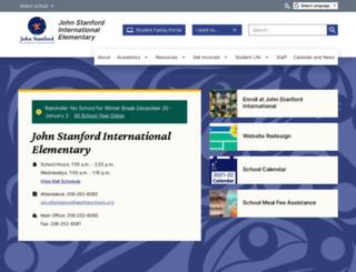 stanfordes.seattleschools.org screenshot