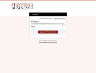 stanfordgsb.academicworks.com screenshot
