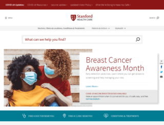 stanfordhospital.org screenshot