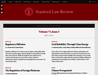 stanfordlawreview.org screenshot