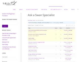 stanley-park-swans.com screenshot