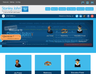 stanleyjohn.net screenshot