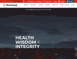 stansteadcollege.com screenshot