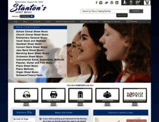 stantons.com screenshot