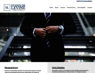 stanzlerlevine.com screenshot